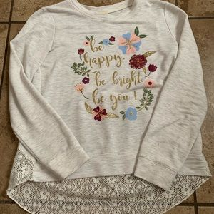 """pretty """"be happy, be bright, be you"""" long sleeve"""